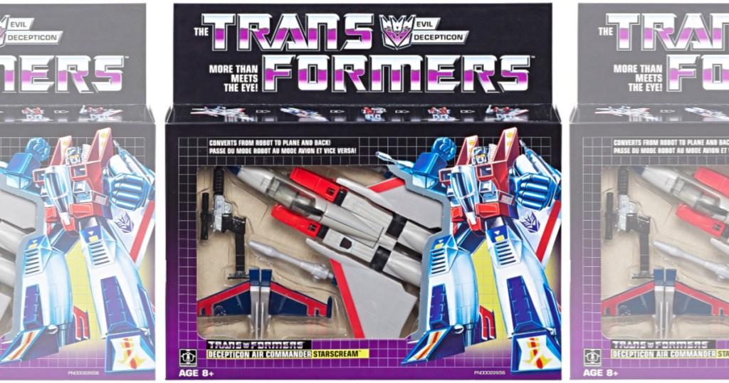 Transformers Vintage G1 Starscream in box