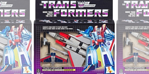 Transformers Vintage G1 Starscream Toy Only $24.67 at Walmart (Regularly $35)