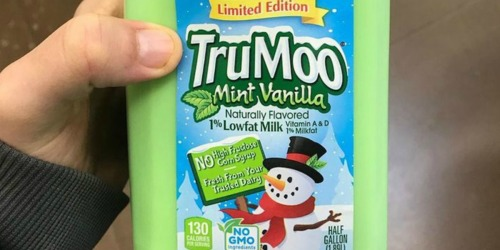 TruMoo's Limited-Edition Mint Vanilla Milk Available in Stores Now!