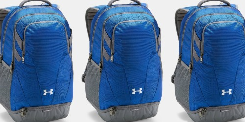 Under Armour Team Hustle Backpack Just $29.99 Shipped at Amazon (Regularly $55)