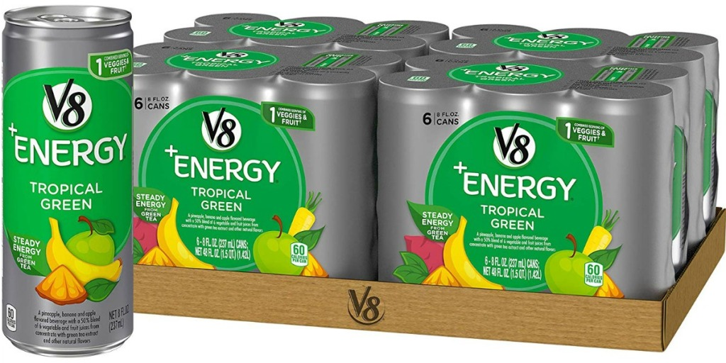 V8 Energy Tropical Green drink