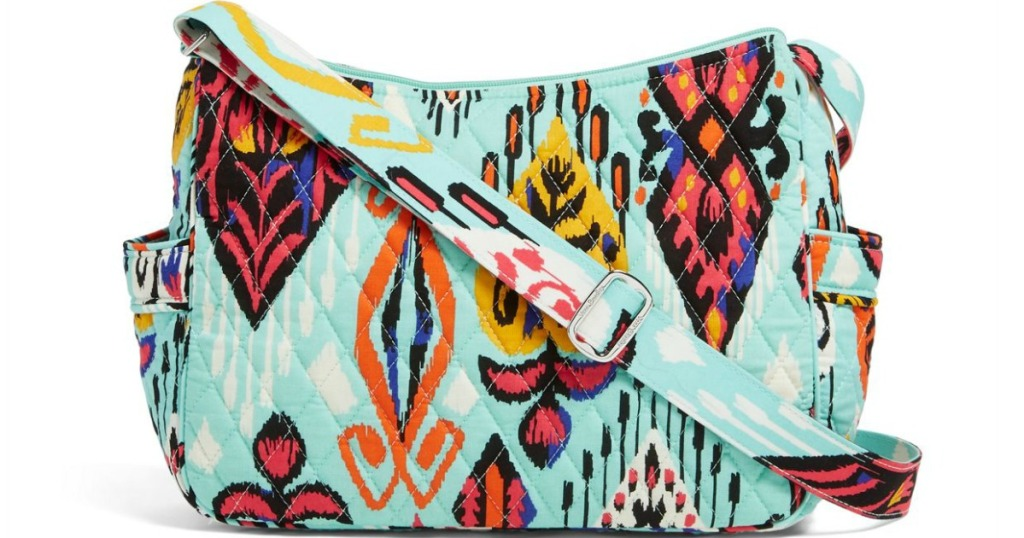 multi-colored women's crossbody bag