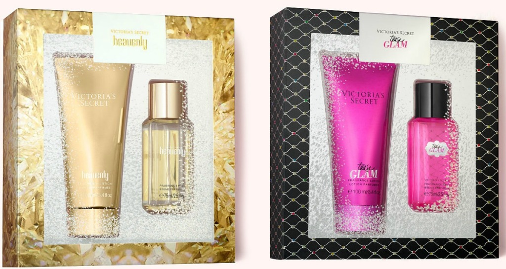 Two styles of Victoria's Secret Gift Sets