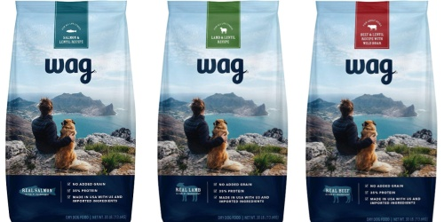 50% Off Amazon Brand Wag Dry Dog Food + FREE Shipping