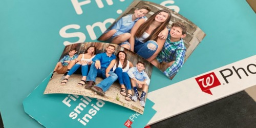 TWO Free 5×7 Photo Prints + Free Walgreens Store Pickup