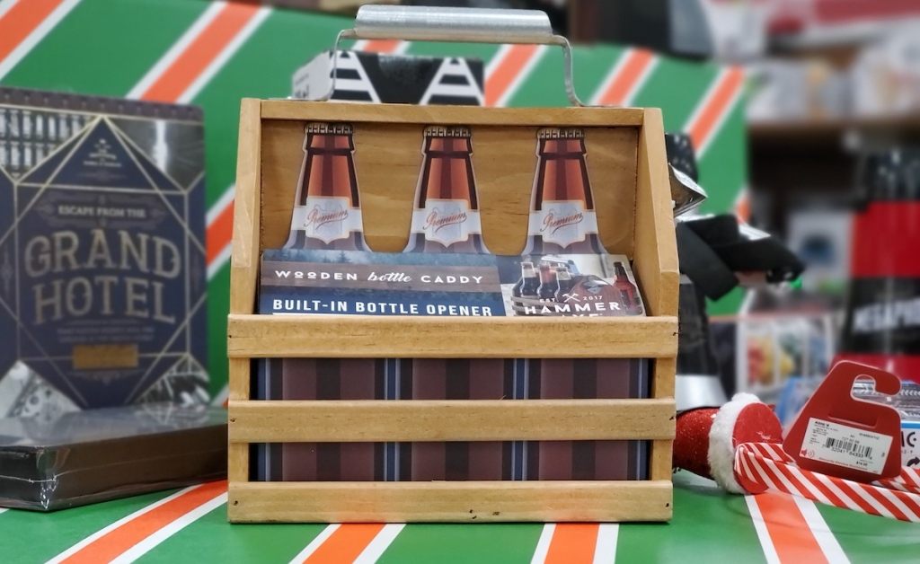 Wooden Bottle Caddy at Kohl's