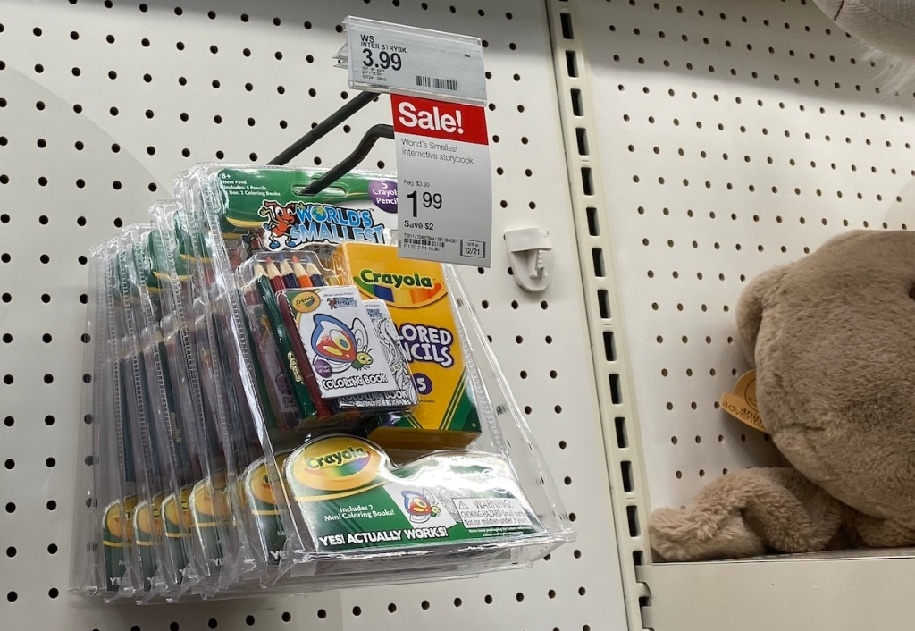 World's Smallest Colored Pencils on display at Target