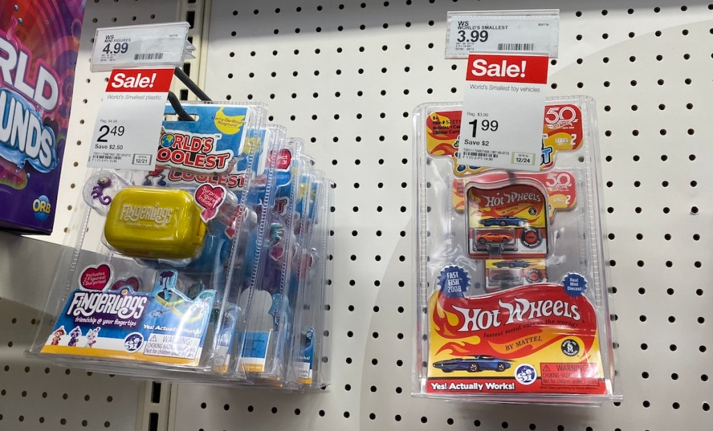 World's Smallest Toys at Target