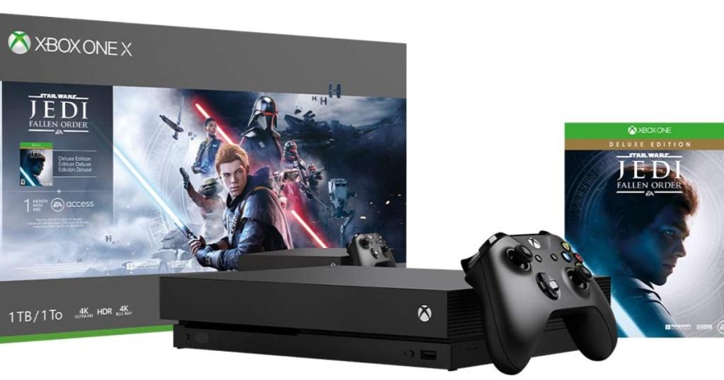 xbox one x console bundle
