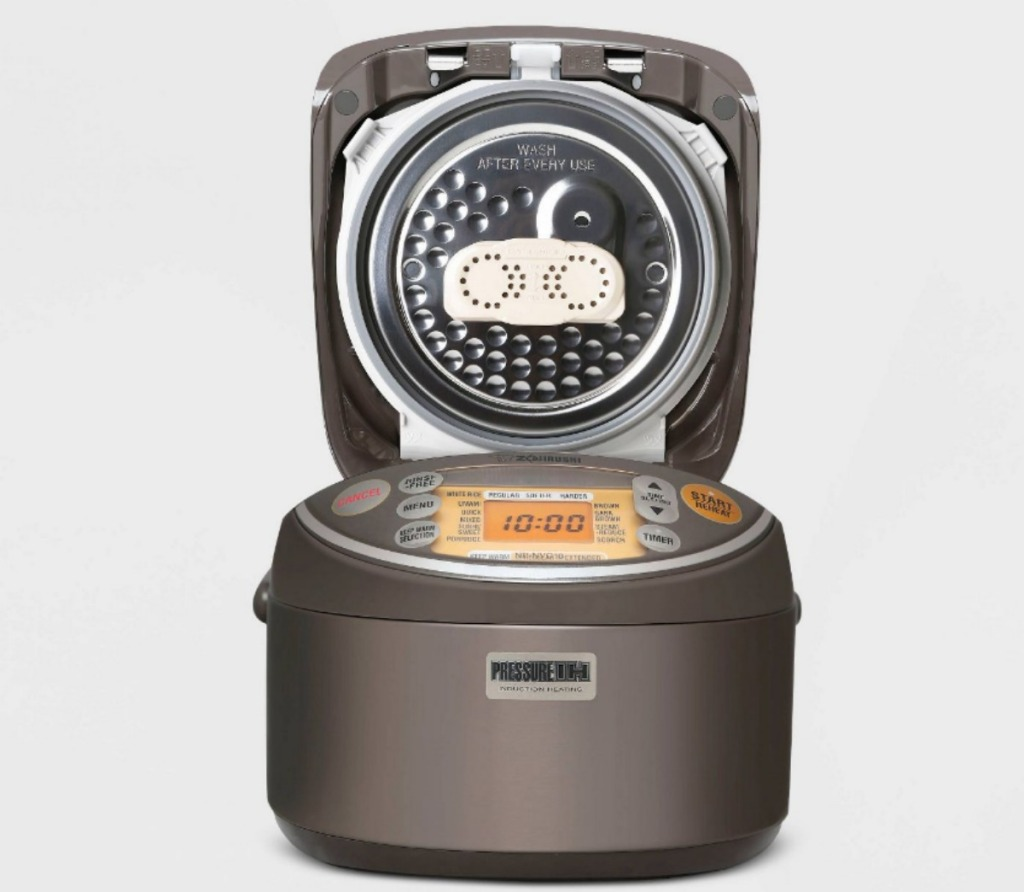 Zojirushi 5.5 Cup Induction Heating Pressure Rice Cooker and Warmer