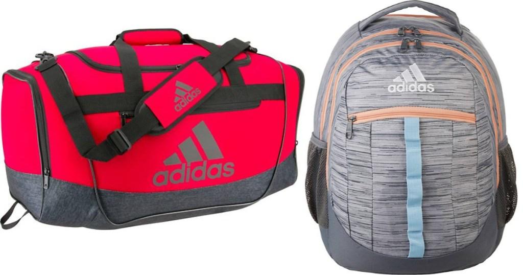 adias duffel and backpack bags