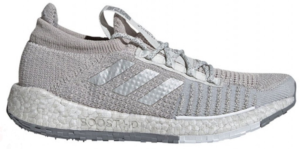 women's adidas pulseBOOST running shoes stock image