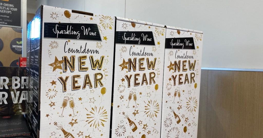 ALDI sparkling wine calendars