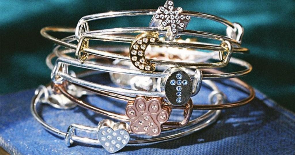 symbol charm bracelets