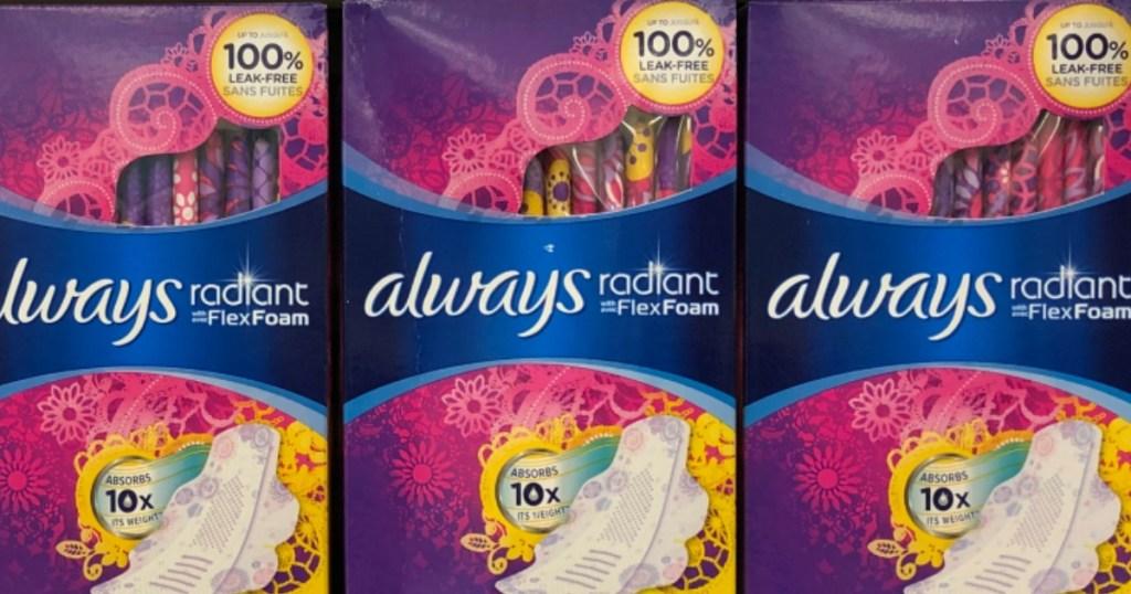 always radiant pads