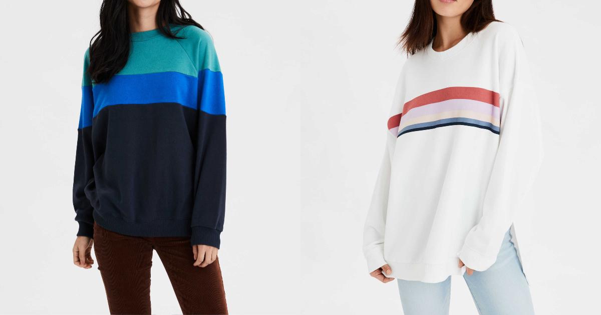 Up to 50% Off American Eagle Hoodies \u0026 Sweaters + Free