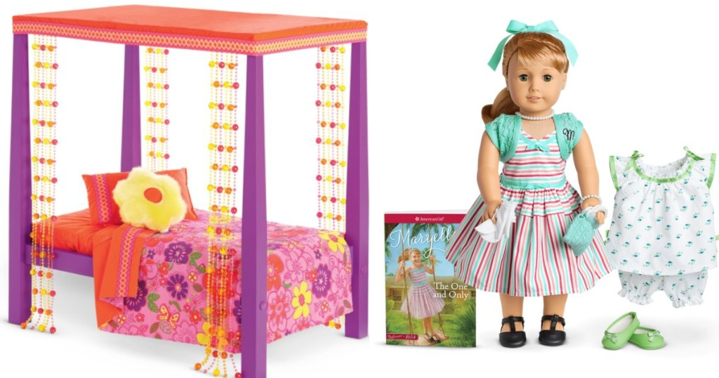 american girl bed and doll
