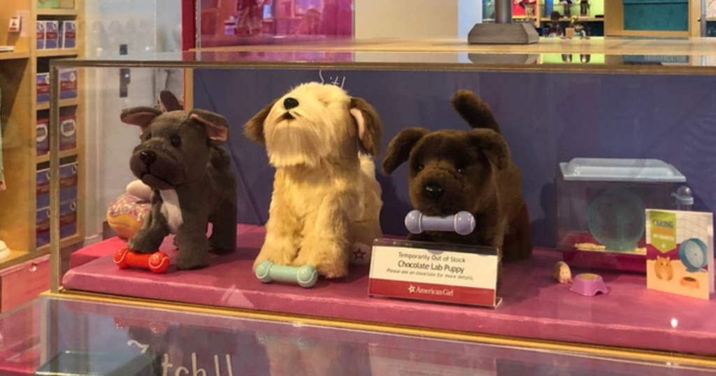 american girl dogs in store