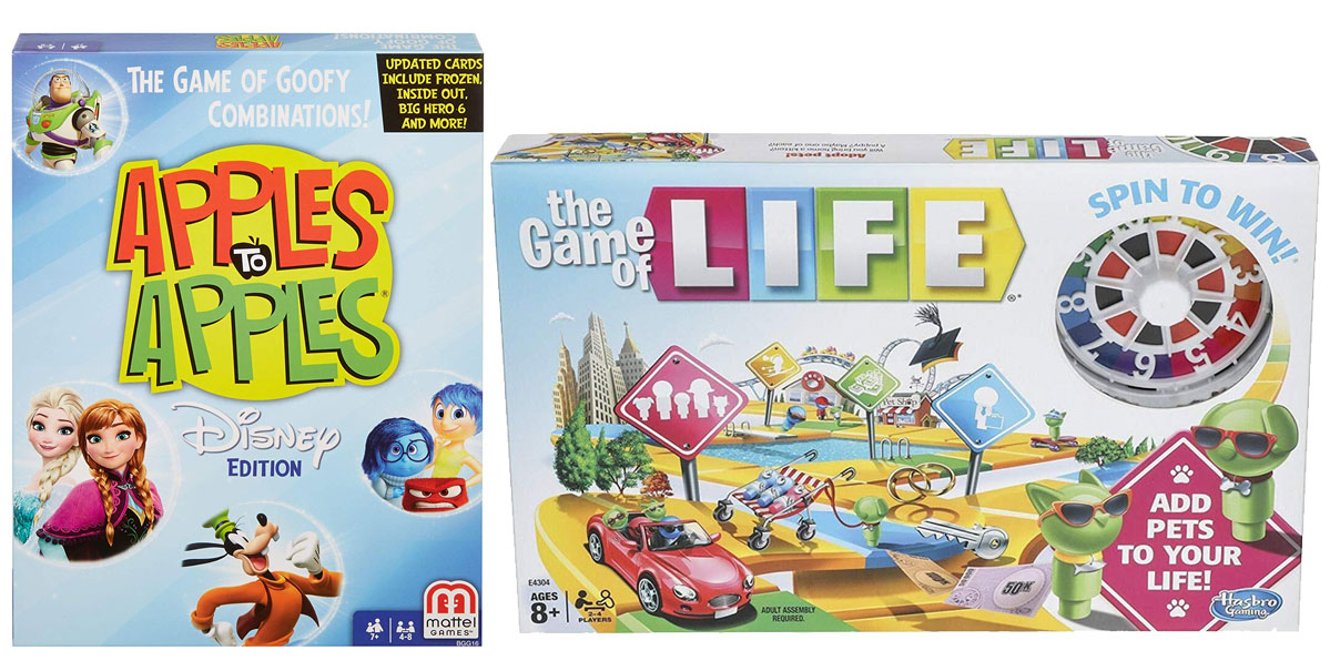 apples to apples disney and the game of life stock images