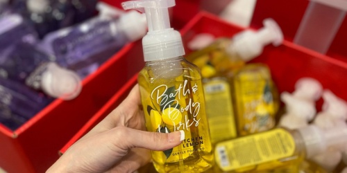 Bath & Body Works Hand Soaps as Low as $2.40 Each (Regularly $6)