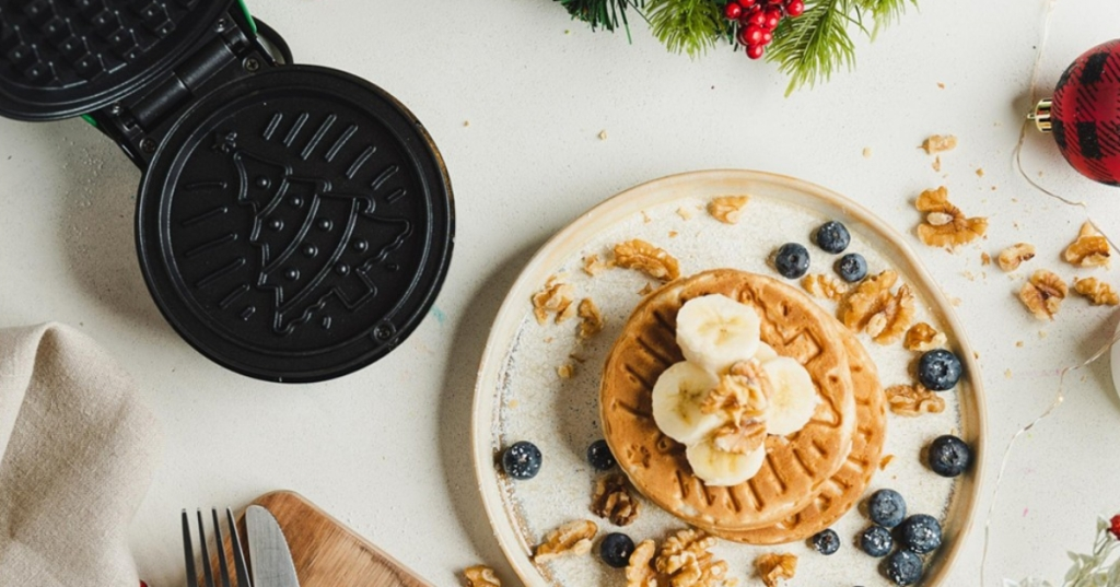 Image result for waffles christmas bella