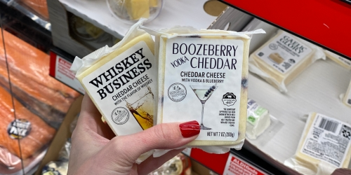 Alcohol Infused Cheese Just $3.99 at ALDI This Week
