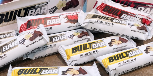 Built Bar 10-Bar Sample Box Only $14.95 Shipped | Low-Carb & Keto-friendly