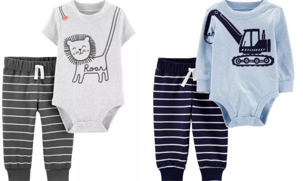 lion and tractor 2-piece sets