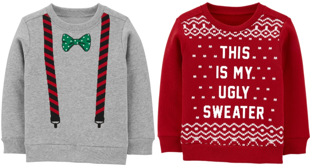 carters kids christmas sweaters