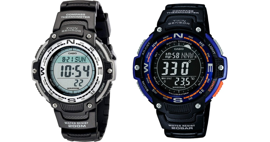 two casio mens watches