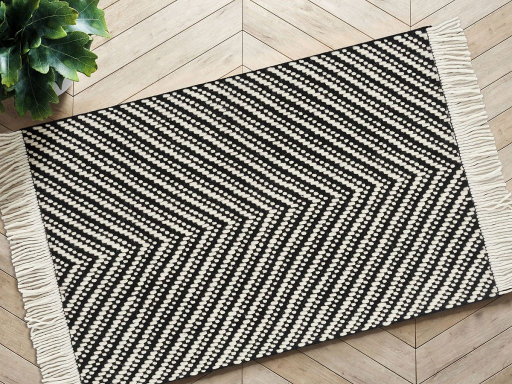 stock image of Project 62 Chevron Woven 2'x3' Area Rug