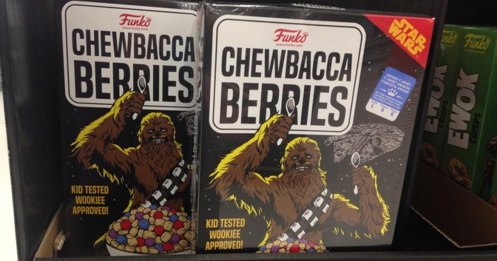 Chewbacca Berries boxed T-shirt