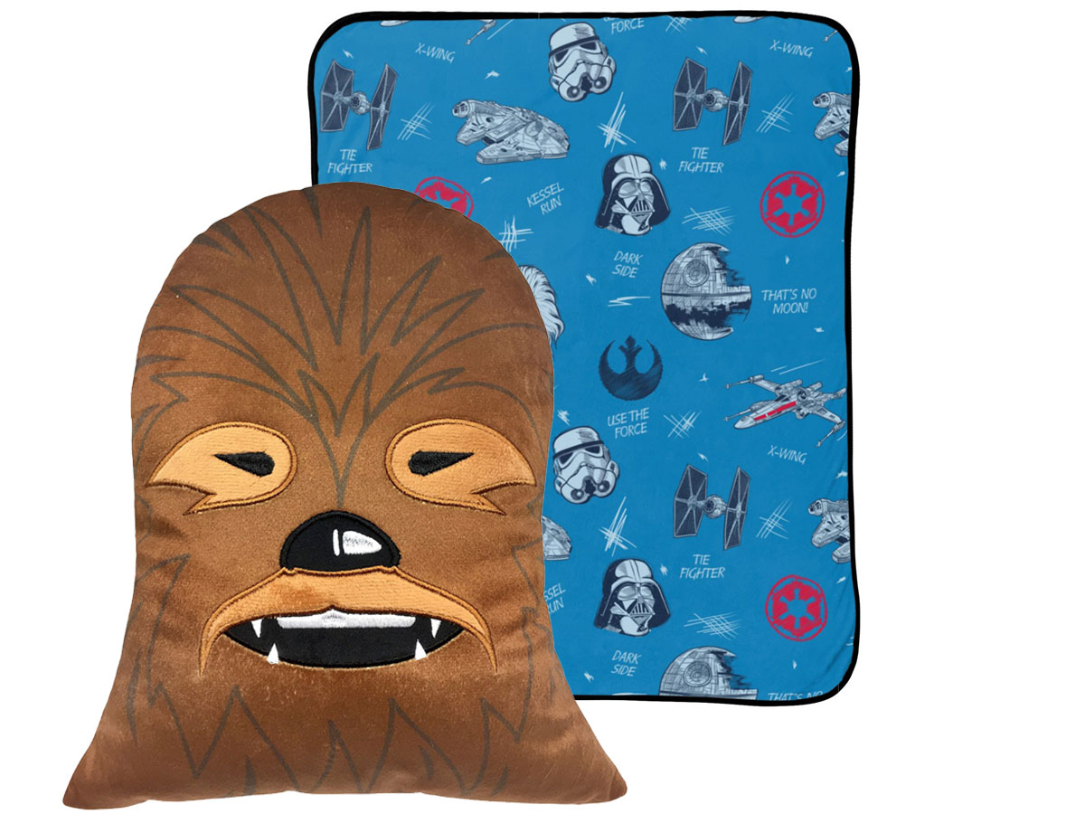 Jay Franco Squishy Pillow Pair 2-Packs chewbacca