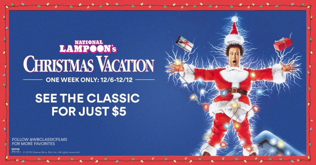 Christmas Vacation movie advertisement