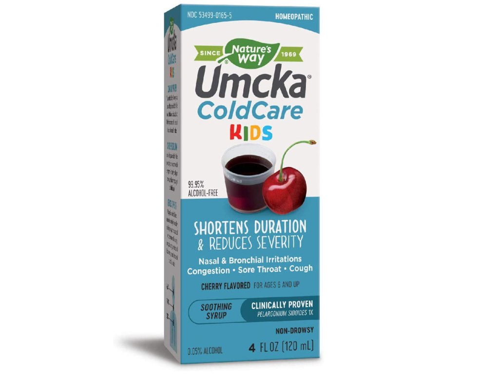 stock image of Nature's Way Umcka ColdCare Kids Syrup