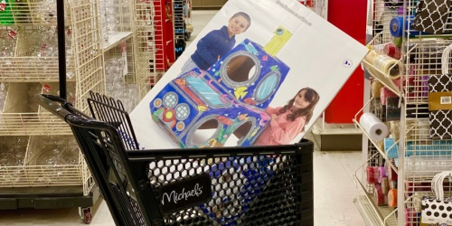 Creatology Kids Color-In Playhouses Just $7.99 at Michaels (Regularly $30)