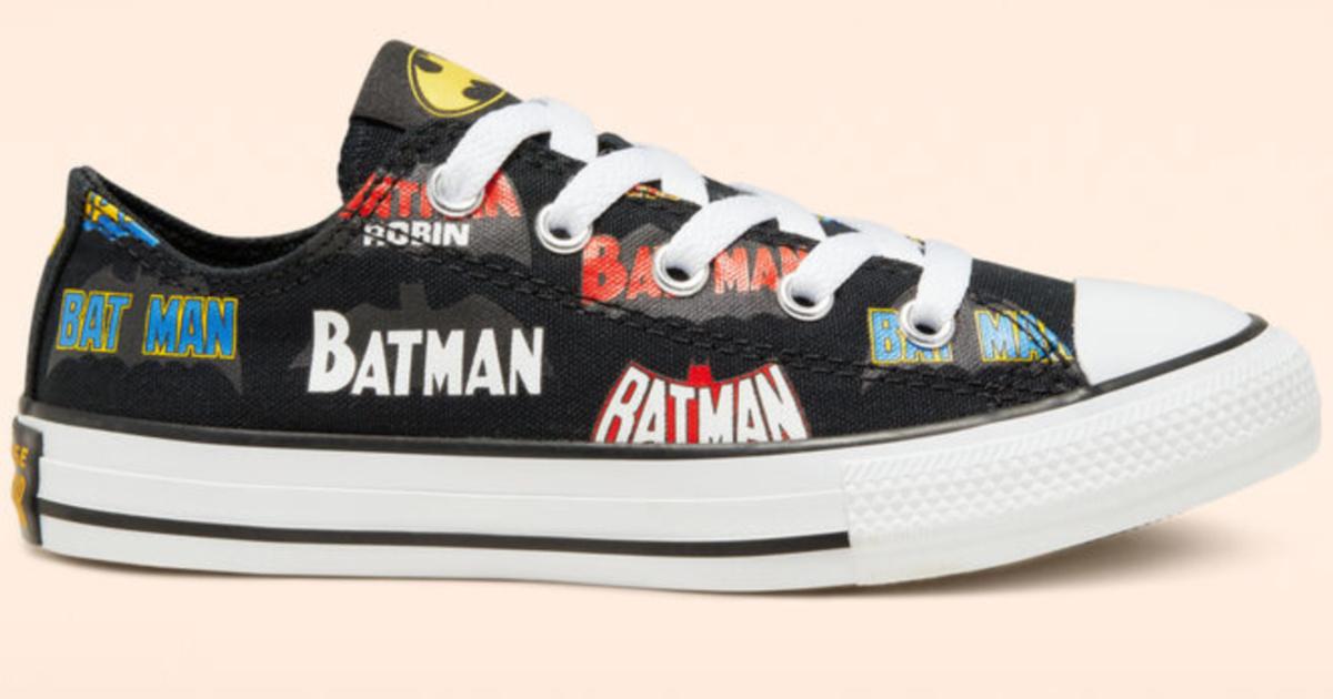 Off Converse Batman Chuck Taylor Shoes