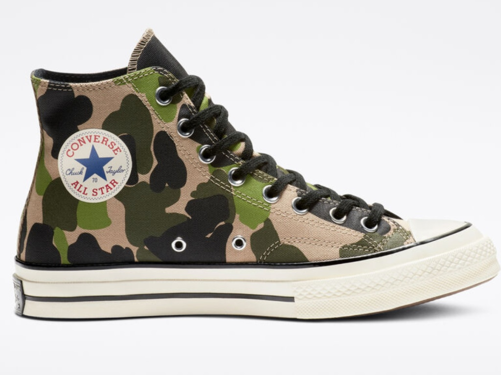 converse all star chuck taylor print shoes