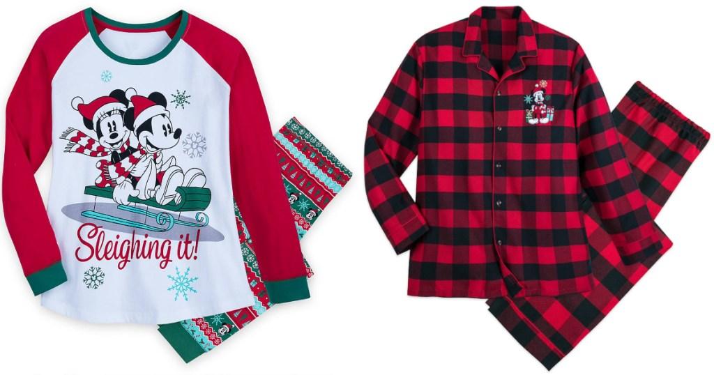 disney family pajama sets