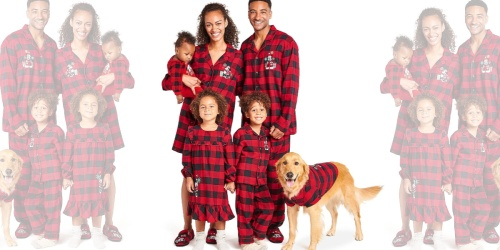50% Off Holiday Pajamas For The Family at shopDisney