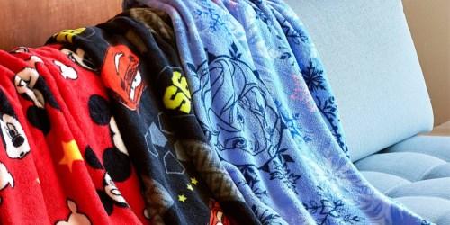 shopDisney Twice Upon a Year Sale = $6 Fleece Throws, $6 Girls Nightshirts + More