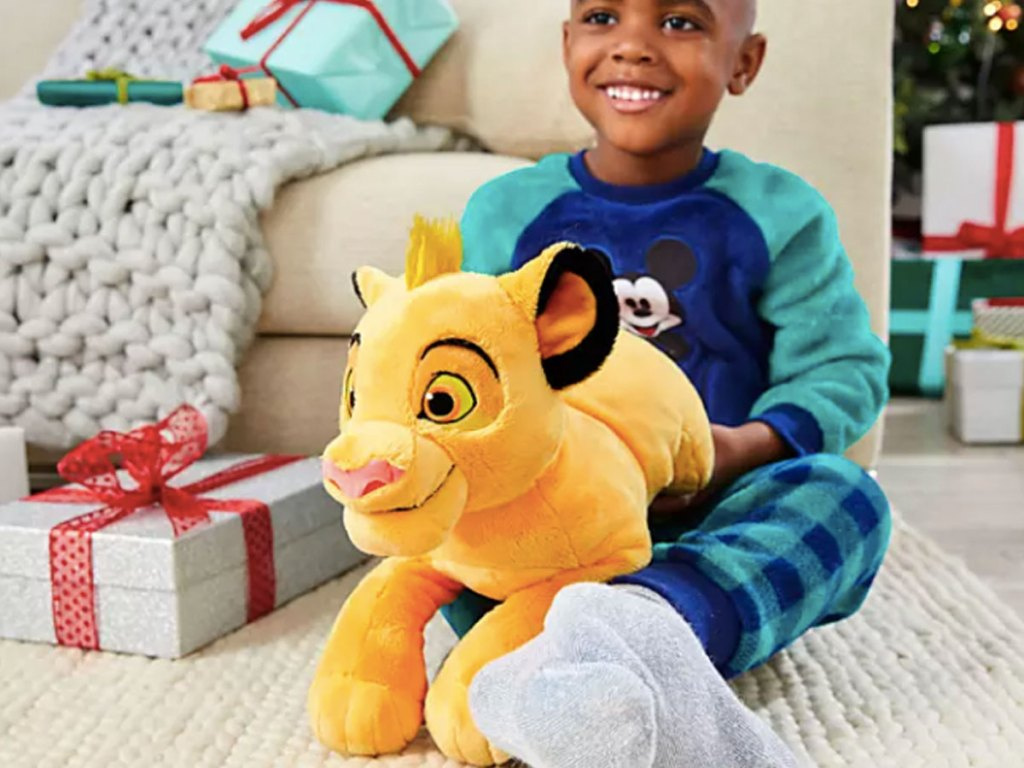 "Disney Simba The Lion King 17"" Plush"