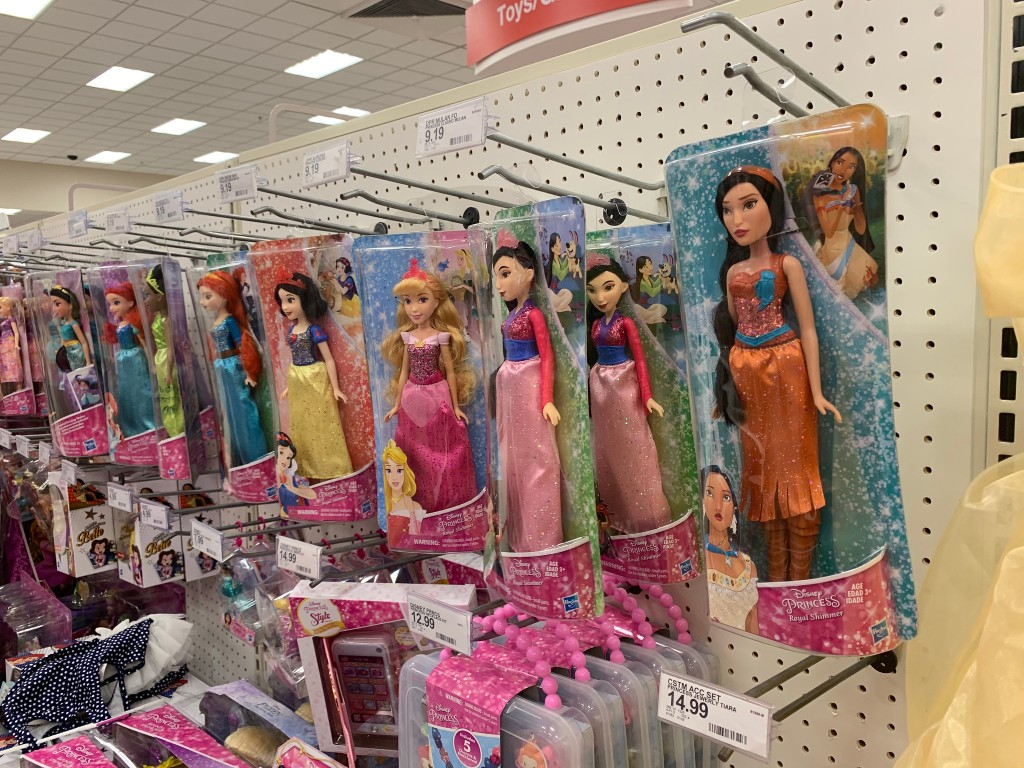 disney toys at target in store
