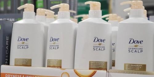 Score Instant Savings On Dove Dermacare 2-in-1 Scalp Anti-Dandruff Shampoo & Conditioner at Sam's Club