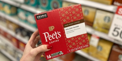 Peet's Dark Roast Holiday Blend Coffee K-Cups 16-Count Only $5.76 at Target (Regularly $11)