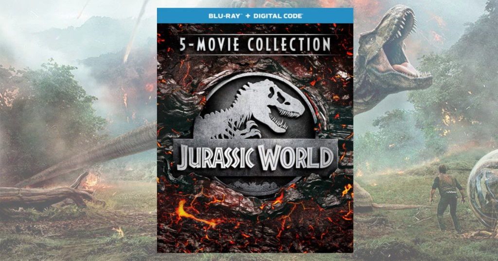 Jurassic World 5 DVD Collection