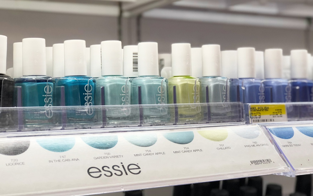 essie nail polishes at Target