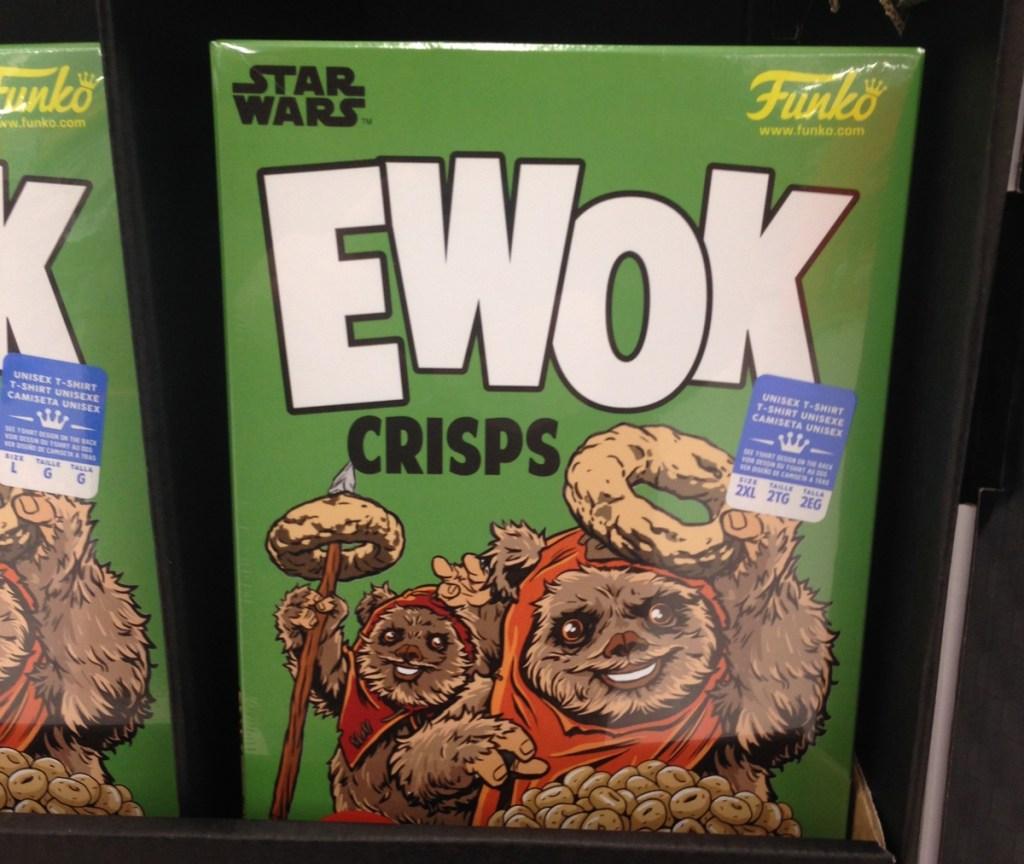 Ewok Crisps boxed T-shirt