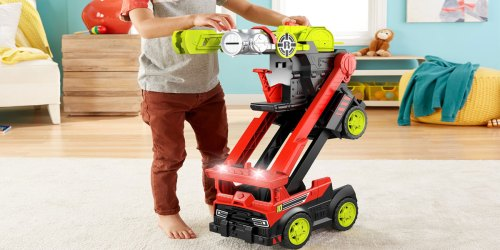 Fisher-Price Rescue Heroes Transforming Fire Truck Just $23.99 on Amazon (Regularly $50)