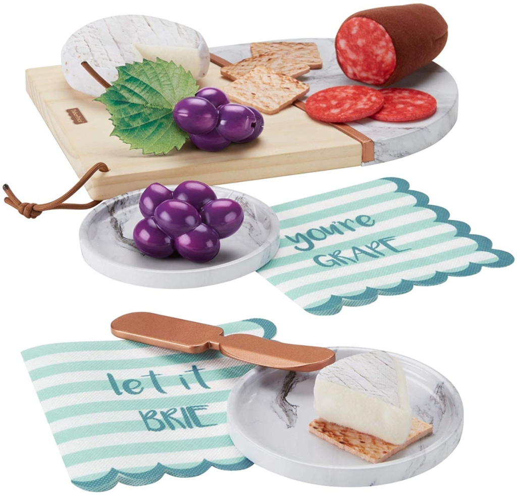 contents of Fisher-Price charcuterie set